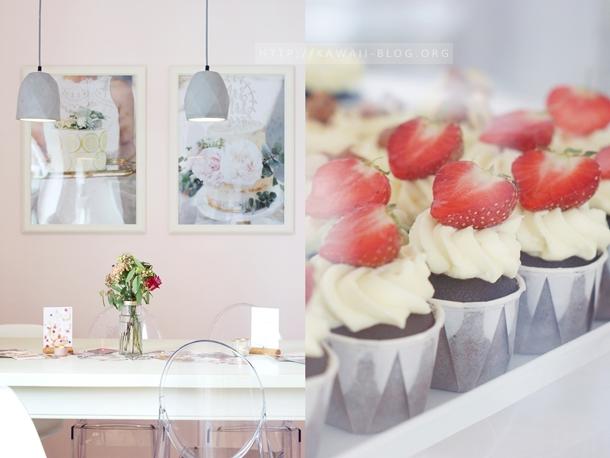 Gönning Erdbeer Cupcake