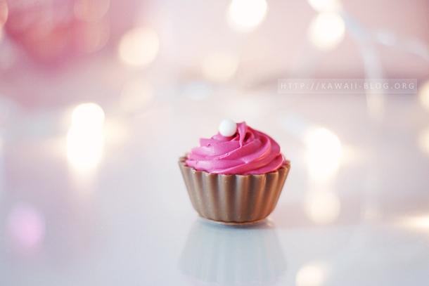 kawaii Schokolade Cupcake