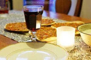 Türkische Pizza vegetarisch