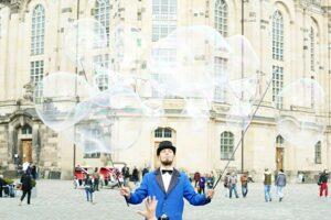 Seifenblasen Dresden