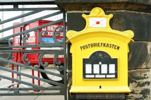 Postbriefkasten Dresden