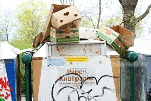 Müll in Dresden Neustadt