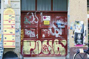 Dresden Neustadt Grafitti