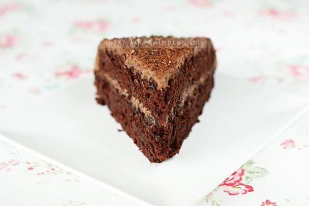 Saftiger Schokoladenkuchen vegan
