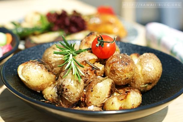 Bootshaus Nürnberg gebratene Kartoffeln