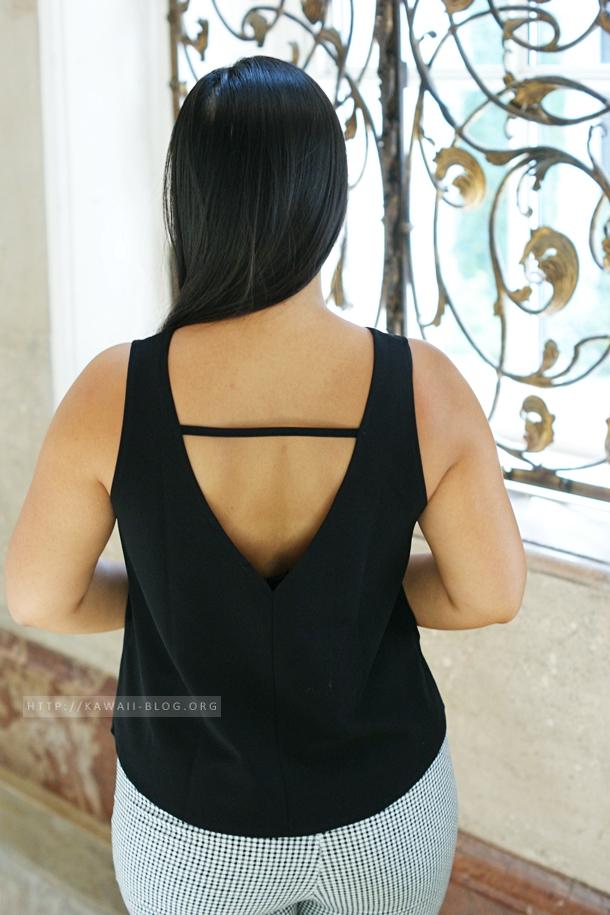 Camisole mit Rückendetail