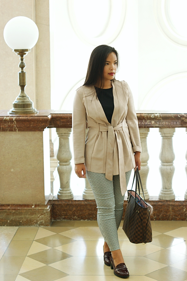 Outfit mit Louis Vuitton Neverfull