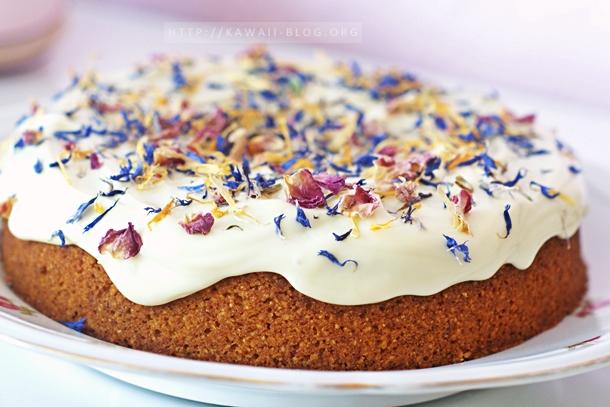 Mandel Polenta Kuchen vegan