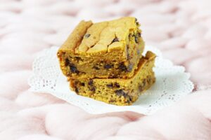 Pumkin Blondies