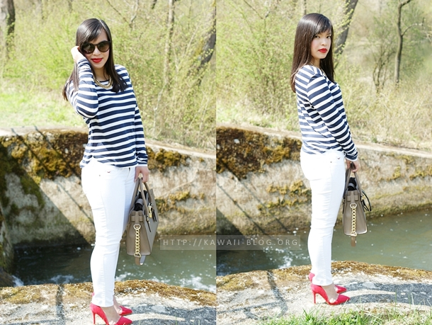 Outfit Marine Look