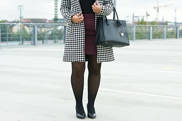 Mantel für den Herbst