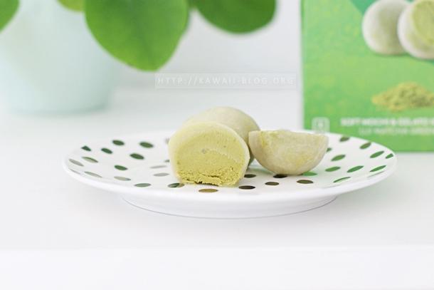 Mochi Ice Cream mit Matcha