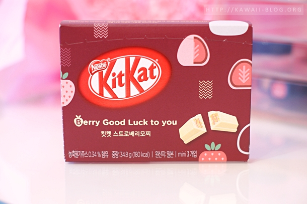 Kitkat Strawberry Mochi Flavour