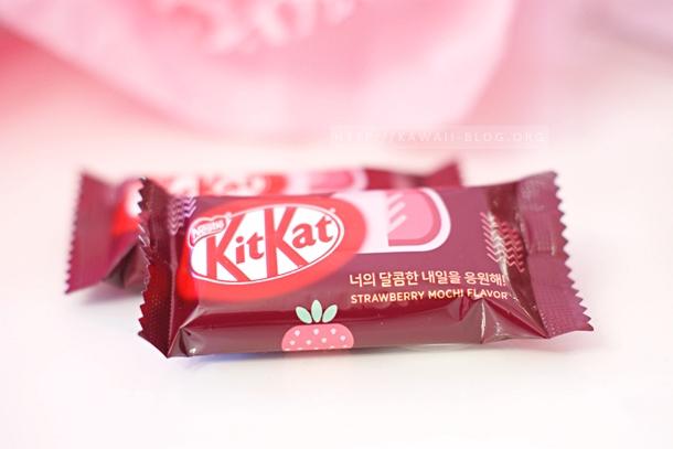 Kitkat Strawberry Mochi Flavour