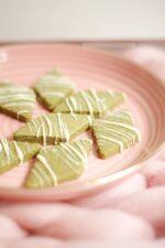 Matcha Butterplätzchen