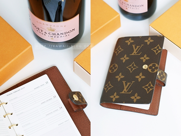 Louis Vuitton Agenda fonctionnel PM