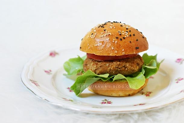 Cajun Spice Veggie Burger