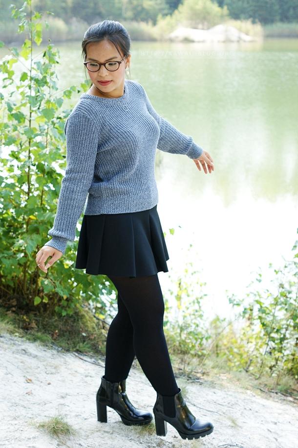 Outfit für den milden Herbst