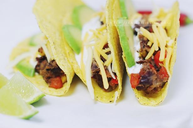 Tacos ohne Fleisch