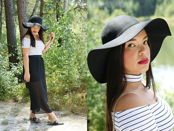 Komplettes Outfit um den Sommer ausklingen zu lassen