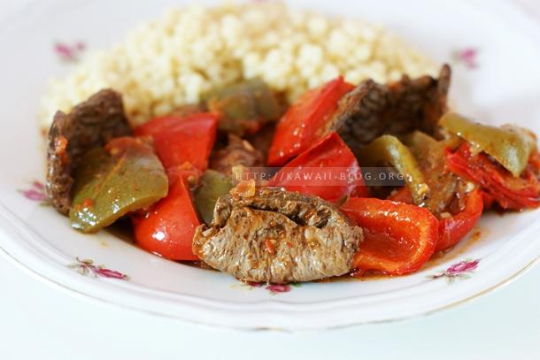 Köstliches Peppers Gulash
