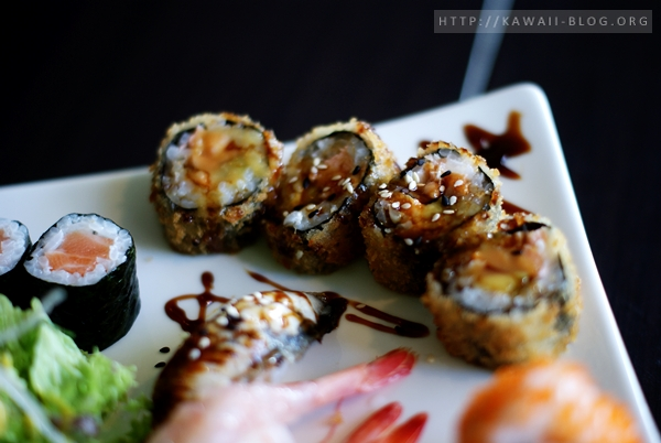 Sushi frittiert
