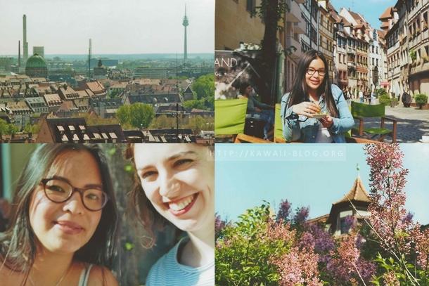 Nürnberger Altstadt analog fotografiert