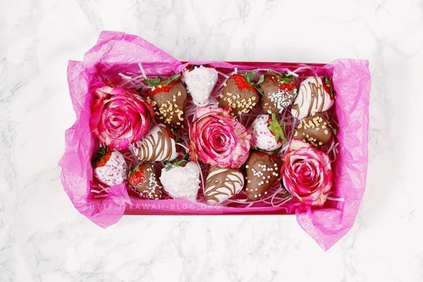 homemade chocolate strawberrys