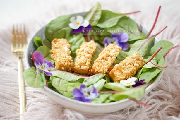 Tofu mit knuspriger Panade