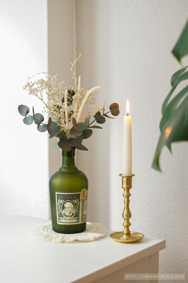 DIY Idee mit Trockenblumen