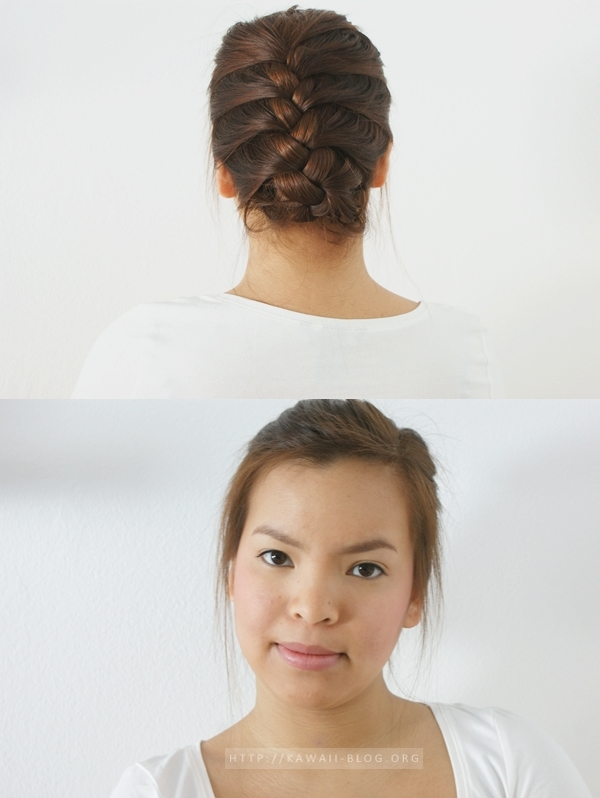 Hairtutorial French Braid K A W A I I B L O G