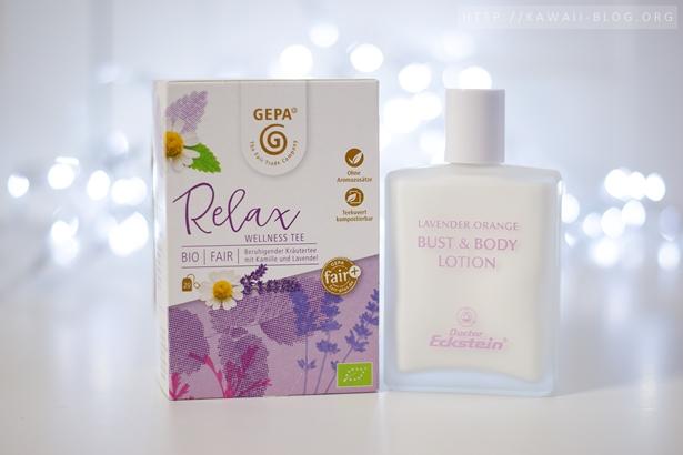 Lavendelprodukte zum entspannen