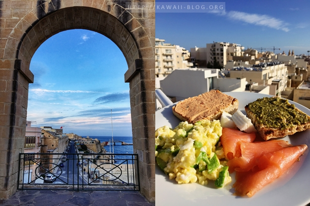 Frühstück auf Malta