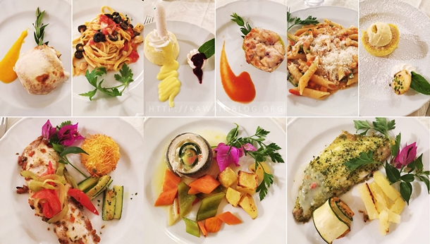 Dinner at Hotel Smeraldo Beach