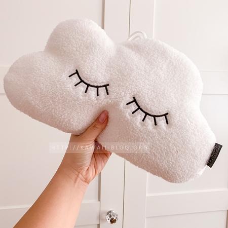 Wärmflasche mit Bezug Wolke
