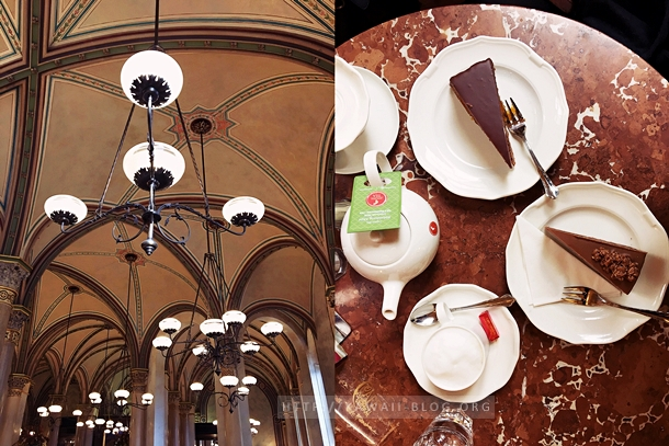Sachertorte Café Central Wien
